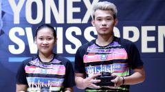 Indosport - Pasangan ganda campuran muda Indonesia, Rinov Rivaldy/Pitha Haningtyas Mentari, optimistis bisa tampil apik di nomor perorangan bulutangkis SEA Games 2019.