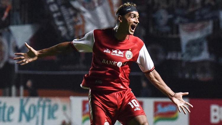 Striker Persija Jakarta, Bruno Matos. Copyright: Instagram.com/persijajkt