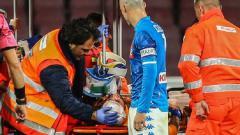 Indosport - David Ospina pingsan saat laga Napoli vs Udinese sedang berlangsung