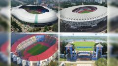 Indosport - 4 Stadion Jadi Venue Perempatfinal Piala Presiden.