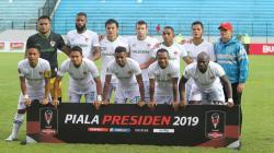 Tim Kalteng Putra di Piala Presiden 2019.