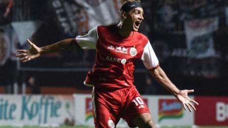Bruno Matos bisa membuat rekor baru bila hengkang dari Persija Jakarta ke Persebaya Surabaya. - INDOSPORT