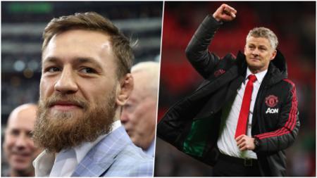 McGregor mendukung Solskjaer untuk segera dipermanenkan oleh Manchester United. - INDOSPORT