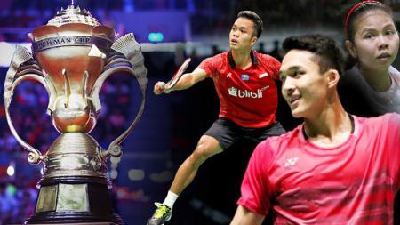 Timnas Indonesia di Piala Sudirman. - INDOSPORT