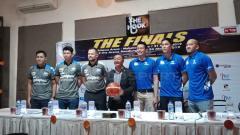Indosport - Konferensi Pers final IBL 2018/19 antara Stapac Jakarta vs Satria Muda.