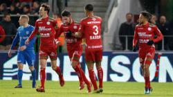 Pemain keturunan Indonesia, Sandy Walsh baru saja mencetak gol untuk timnya di Liga Belgia