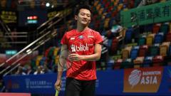 Indosport - PBSI resmi mengumumkan skuat bulutangkis Indonesia yang akan berkompetisi di turnamen bulutangkis Spain Masters 2021, Kamis (15/04/21).