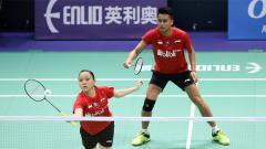 Indosport - Penampilan Owi/Winny di Tong Yun Kai Cup 2019.