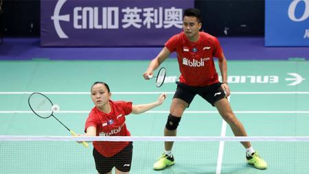 Penampilan Owi/Winny di Tong Yun Kai Cup 2019 - INDOSPORT