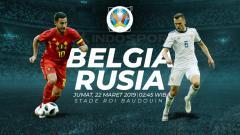 Indosport - Prediksi Belgia vs Rusia