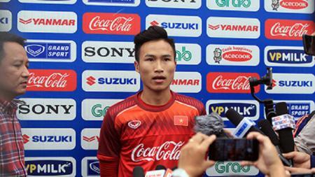 Gelandang Timnas Vietnam U-23, Trieu Viet Hung. - INDOSPORT