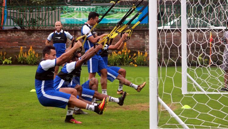 Perseru Badak Lampung FC menggelar pemusatan latihan perdana di Lestarindo Sport Garden, Boyolali, Kamis (21/03/19). Copyright: Ronald Seger Prabowo/INDOSPORT