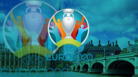 Logo cup Euro 2020. - INDOSPORT