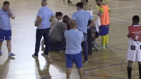 Pemain futsal Portugal meninggal dunia usai terkena serangan jantung saat bertanding - INDOSPORT