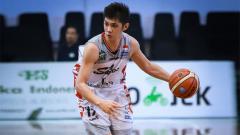Indosport - Mei Joni pebasket profesional Indonesia.