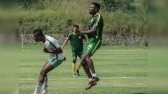 Indosport - Pemain naturalisasi dari Nigeria Godstime Ouseloka Egwuatu