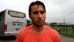 Indosport - Ezra Walian, pemain Timnas Indonesia U-23.
