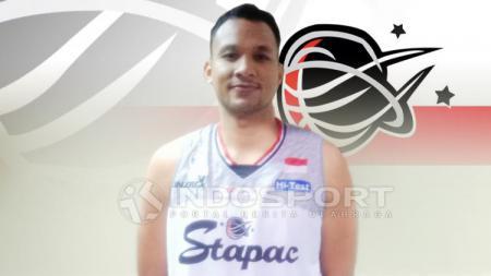 Kaleb Ramot Gemilang berhasil mendapatkan gelar individu Most Valuable Player (MVP) pada IBL musim 2018/19. - INDOSPORT