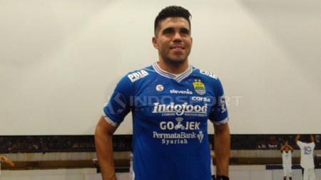 Fabiano Beltrame akan didaftarkan ke Persib B yang mengikuti Liga 2 2019 sementara menunggu proses naturalisasinya menjadi WNI rampung. - INDOSPORT