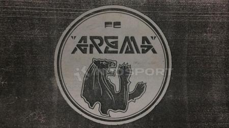 Awal mula logo arema sejak berdiri 1987 silam. - INDOSPORT