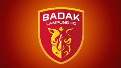Indosport - Logo Badak Lampung FC.