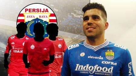 Termasuk Fabiano Beltrame, berikut 3 bek andalan Persija yang Akhirnya pindah ke Persib - INDOSPORT