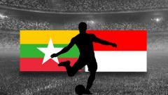 Indosport - Myanmar vs Timnas Indonesia.