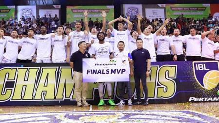Savon Goodman sebagai MVP Final IBL Pertamax 2018/2019. - INDOSPORT