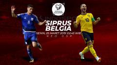 Indosport - Prediksi Siprus vs Belgia