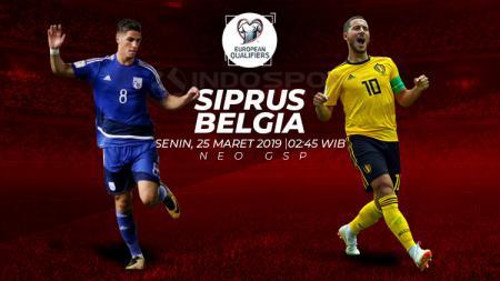 Prediksi Siprus vs Belgia - INDOSPORT