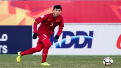Indosport - Pilar Timnas Vietnam U-23, Doan Van Hau, diselimuti kesedihan meski baru saja meraih medali emas pertamanya di kancah SEA Games.