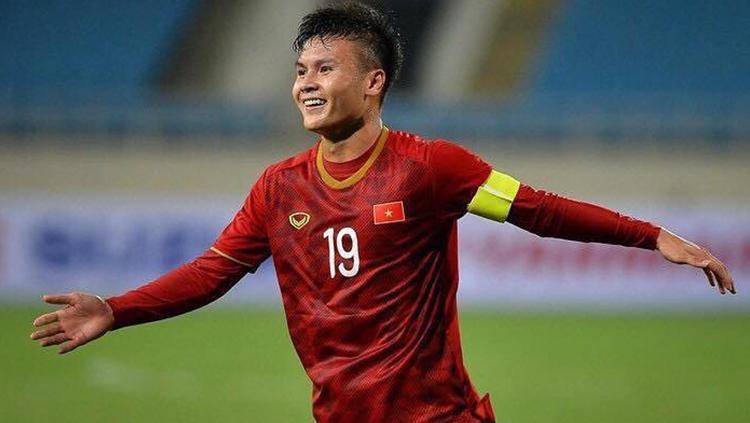 Kapten Timnas Vietnam U-23, Ngyuen Quang Hai. Copyright: Instagram.com/nguyenquanghai12041997