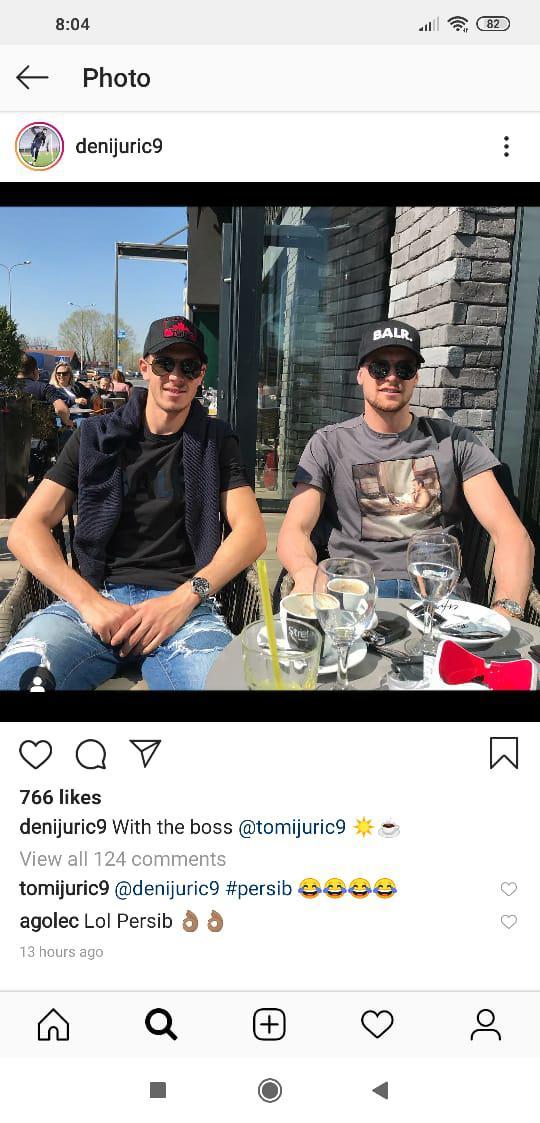 Tomi Juric, striker Timnas Australia Copyright: Instagram/@denijuric9