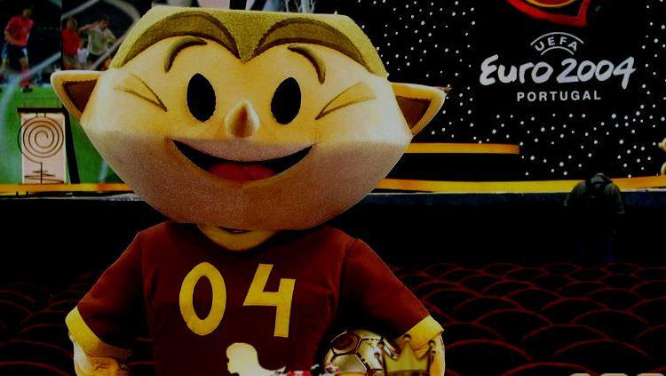 Maskot Piala Eropa 2004 Copyright: EURO