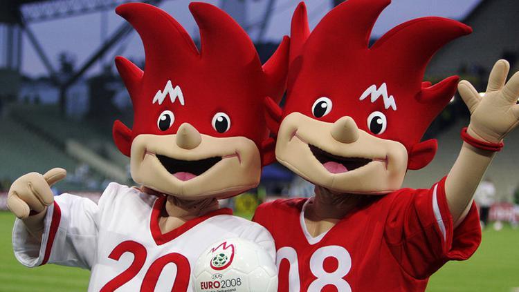 Maskot Piala Eropa 2008 Copyright: EURO