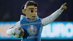 Indosport - Maskot Piala Eropa 2020