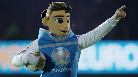 Maskot Piala Eropa 2020 - INDOSPORT
