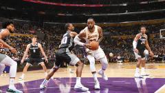 Indosport - Pemain Megabintang Lakers, LeBron James.