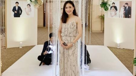 Nitchaon Jindapol, pebulutangkis asal Thailand ,rupanya sudah memiliki seorang kekasih. - INDOSPORT