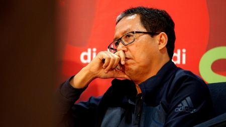 Statuta baru bisa membuat Joko Driyono tidak bisa terlibat lagi di PSSI. - INDOSPORT
