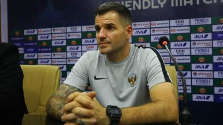 Pelatih Timnas Indonesia Simon McMenemy. - INDOSPORT
