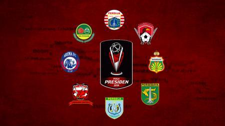 Tim delapan besar Piala Presiden 2019 - INDOSPORT