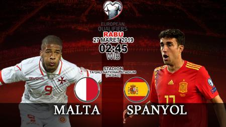 Prediski pertandingan kualifikasi kejuaraan eropa Malta vs Spanyol - INDOSPORT