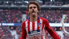 Indosport - Striker Atletico Madrid, Antoine Griezmann.