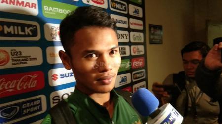Striker Timnas Indonesia U-23, Dimas Drajad. - INDOSPORT