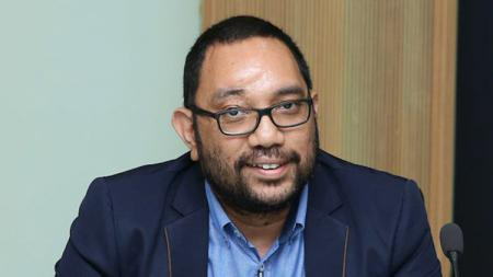 Dirut PT Putra Sleman Sembada selaku pengelola klub PSS Sleman, Marco Gracia Paulo. - INDOSPORT