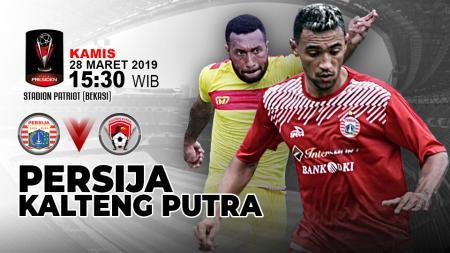 Pertandingan Persija Jakarta vs Kalteng Putra. - INDOSPORT