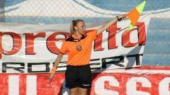 Indosport - Rosana Paz, Asisten wasit Liga Argentina.