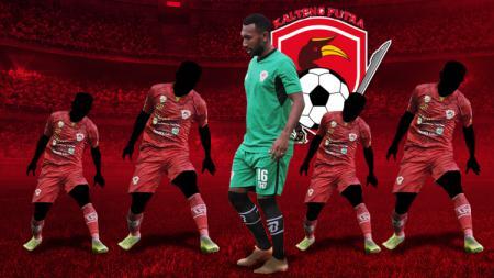 Lima pemain Kalteng Putra yang bisa mendobrak Arema FC, salah satunya Patrich Wanggai - INDOSPORT
