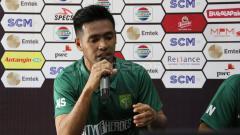 Indosport - Pemain Persela Lamongan, Novan Setya Sasongko, tetap disiplin melakukan latihan mandiri meskipun saat ini belum ada kabar kapan latihan bersama akan kembali bergulir.